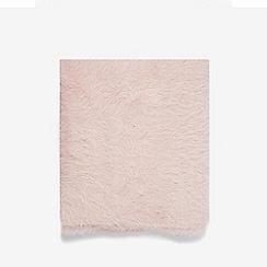 Dorothy Perkins - Pink eyelash yarn scarf
