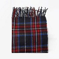 Dorothy Perkins - Navy red check scarf