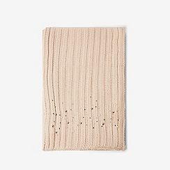 Dorothy Perkins - Cream pearl embellished scarf