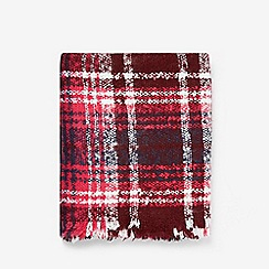 Dorothy Perkins - Multicoloured boucle check scarf