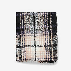 Dorothy Perkins - Multicoloured boucle checked scarf