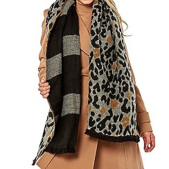 Dorothy Perkins - Double sided leopard print scarf
