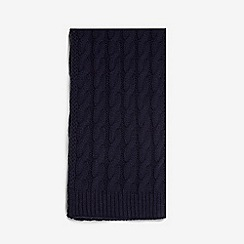 Dorothy Perkins - Navy cable knit scarf