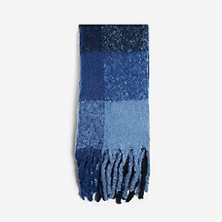 Dorothy Perkins - Navy heavy brushed scarf