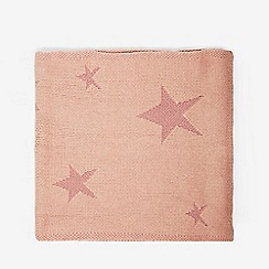 Dorothy Perkins - Pink knitted star scarf