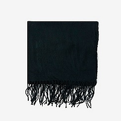 Dorothy Perkins - Green plain acrylic scarf