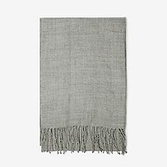 Dorothy Perkins - Grey plain acrylic scarf