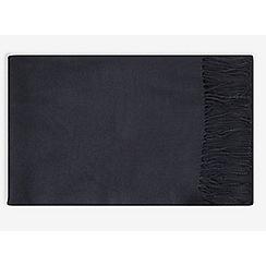 Dorothy Perkins - Navy plain acrylic scarf