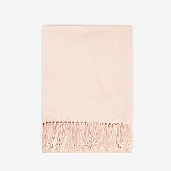 Dorothy Perkins - Blush plain acrylic scarfs