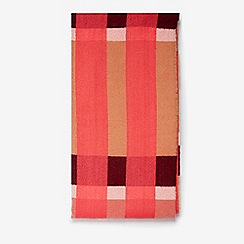 Dorothy Perkins - Pink and camel check scarf