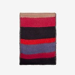 Dorothy Perkins - Multicoloured neon pop striped scarf