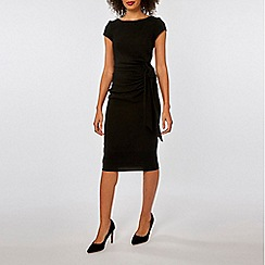 Dorothy Perkins - Lily & franc black tie side dress
