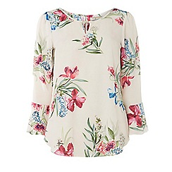 Dorothy Perkins - Tall floral trim blouse