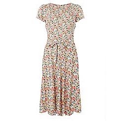 Dorothy Perkins - Billie & blossom tall pink floral print skater dress