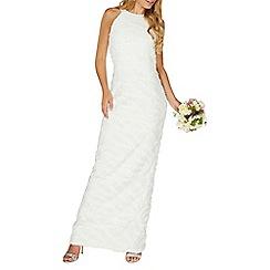 Dorothy Perkins - White  Clara  bridal maxi dress