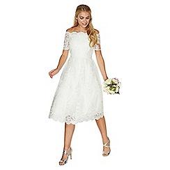 Dorothy Perkins - Ivory 'Bella' wedding dress