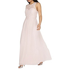 Dorothy Perkins - Showcase petite blush maxi dress