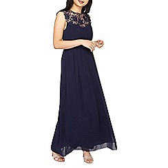 Dorothy Perkins - Navy petite Lila maxi dress