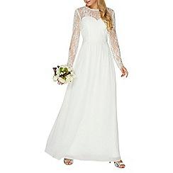 Dorothy Perkins - White 'Rosaline' maxi dress