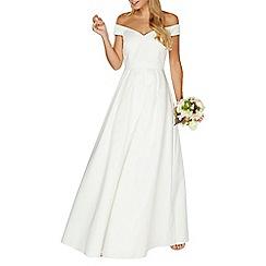 Dorothy Perkins - White bridal 'Valentina' maxi dress