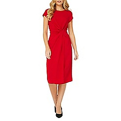 Dorothy Perkins - Lily & Franc red manipulated shift dress