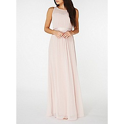 Dorothy Perkins - Showcase blush natalie maxi dress