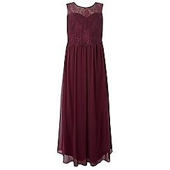 Dorothy Perkins - Showcase curve blackcurrant grace maxi dress