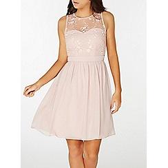 Dorothy Perkins - Showcase blush anya prom dress