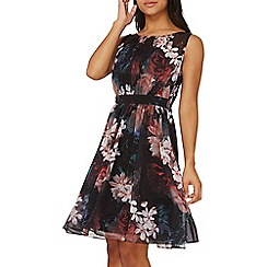 Dorothy Perkins - Showcase multi colour floral print beth prom dress