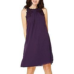 Dorothy Perkins - Showcase purple 'lily' trapeze dress