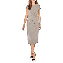 Dorothy Perkins - Lily & franc grey manipulated shift dress