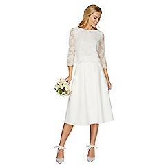 Dorothy Perkins - Showcase white bridal viola skirt