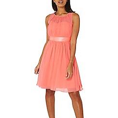 Dorothy Perkins - Showcase soft coral beth prom dress