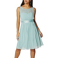 Dorothy Perkins - Showcase green thyme beth prom dress
