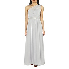 Dorothy Perkins - Showcase petite dove grey sadie maxi dress