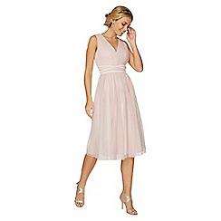 Dorothy Perkins - Showcase blush jasmine prom dress