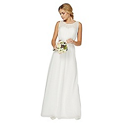 Dorothy Perkins - Showcase white natalia bridal maxi dress