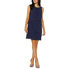 Dorothy Perkins - Billie & blossom navy trapeze tiered dress