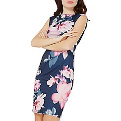 Dorothy Perkins - Billie & blossom navy floral bodycon dress