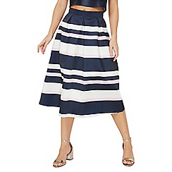 Dorothy Perkins - Luxe multi striped prom skirt