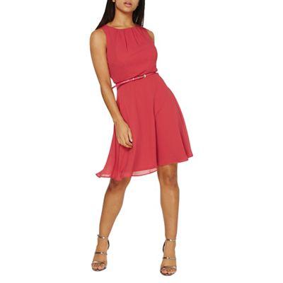 Dorothy Perkins   Pink Chiffon Dress by Dorothy Perkins