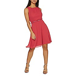 Dorothy Perkins - Pink chiffon dress