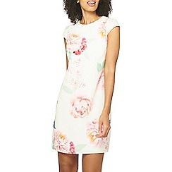 Dorothy Perkins - Billie & blossom white bloom print shift dress