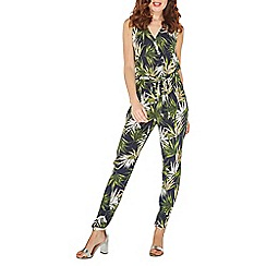 Dorothy Perkins - Billie & blossom palm print jumpsuit