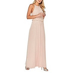 Dorothy Perkins - Showcase blush ava maxi dress