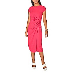 Dorothy Perkins - Lily & franc pink manipulated shift dress