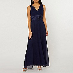 Dorothy Perkins - Showcase petite navy aria maxi dress