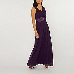Dorothy Perkins - Showcase petite purple aria maxi dress