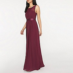 Dorothy Perkins - Showcase petite mulberry maxi dress