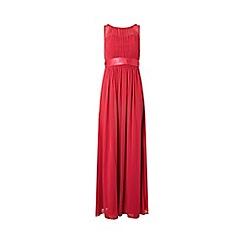 Dorothy Perkins - Showcase cranberry Natalie maxi dress
